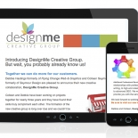 DesignMe Creative Group Mail Chimp Email Blast