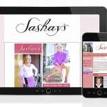 Sashay's Constant Contact Newsletter Email Blast