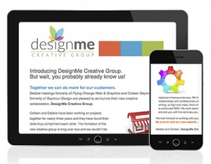 DesignMe Creative Group E-Newsletter