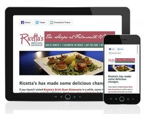 Ricettas E-Newsletter