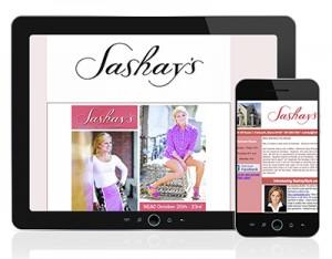 Sashay E-newsletter